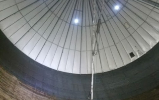 Big Silo Cleaner in Aktion